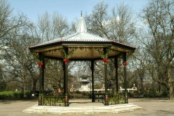 Bandstand as a film location