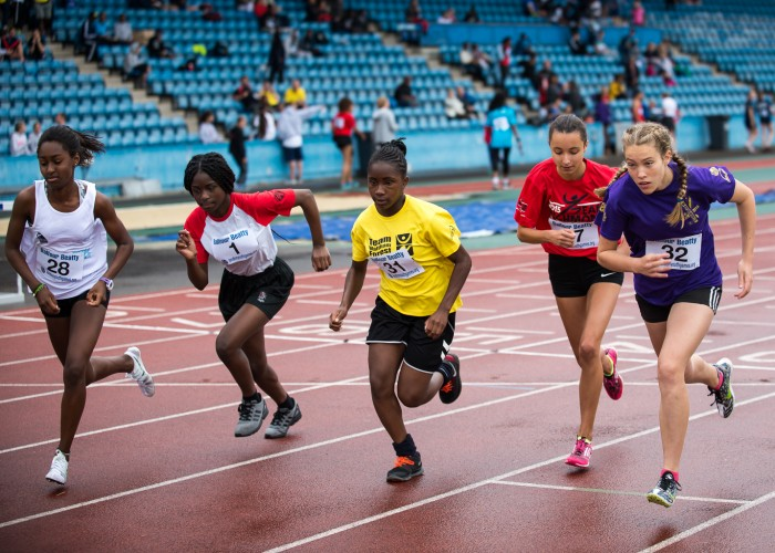 Wandsworth athletes compete at the London Youth Games