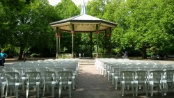 Bandstand chairs