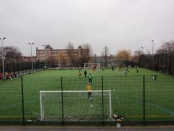 Football pitch at Furzedown Rec
