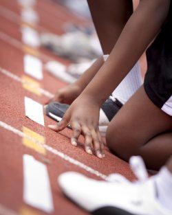 Child Athletics Sprint Start