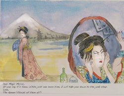 Postcards from the Beuaties of the Japanese Collection Mark Funk-Butterworth