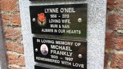 Wall plaques closeup