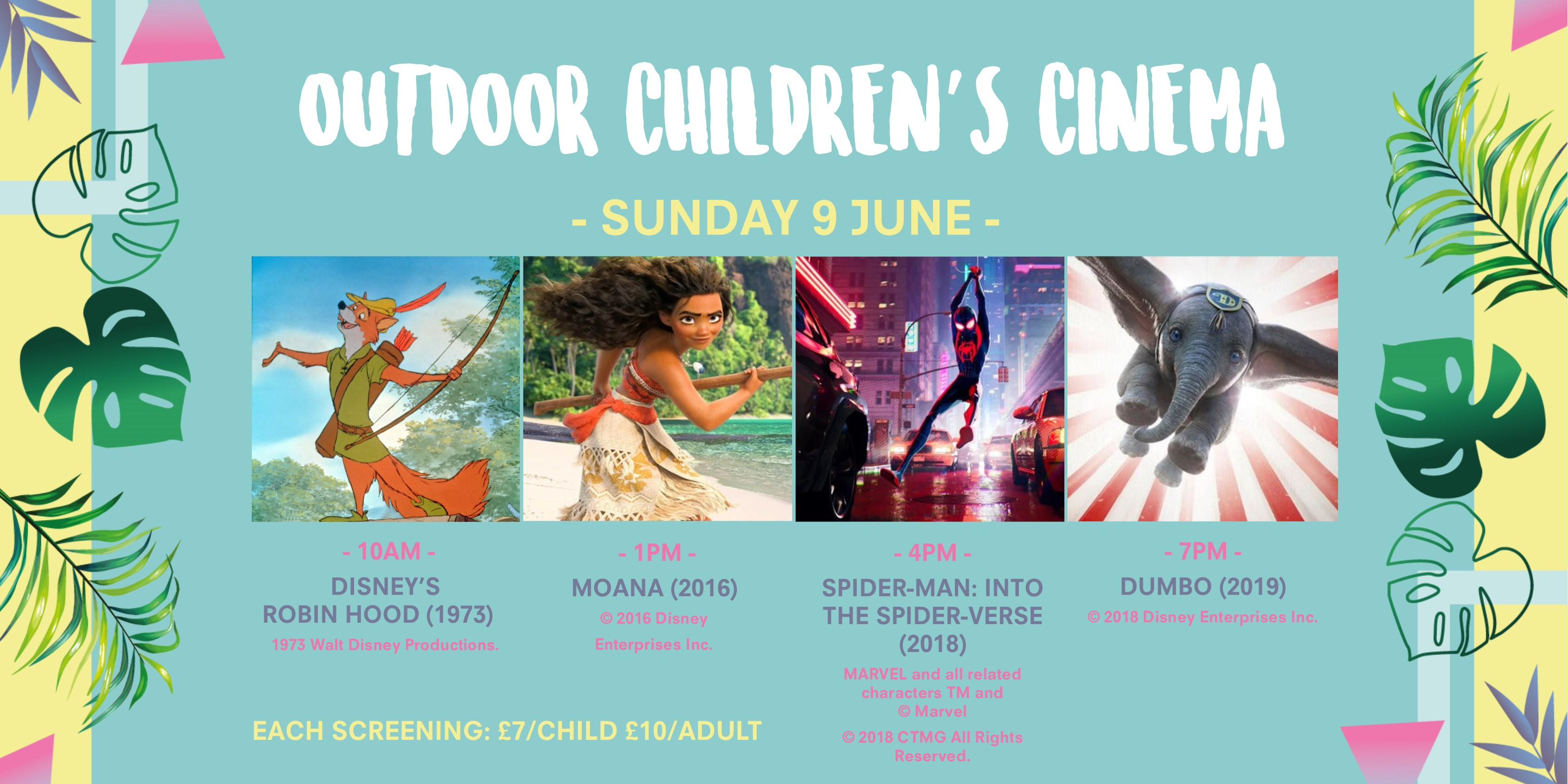 Outdoor Children S Cinema Summer In Battersea Park Enable